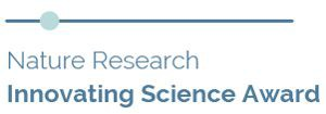 Nature Research Innovating Science Award logo